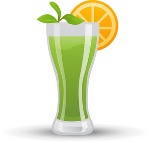 Tropical Green Cocktail Icon