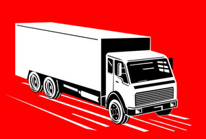 Truck Container Van