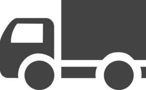 Truck Glyph Icon
