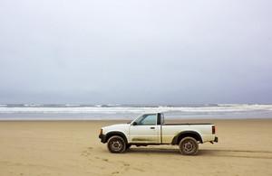 Caminhão Na Praia