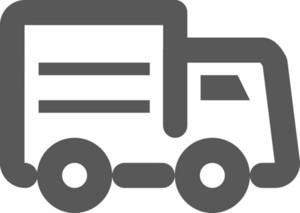Truck Stroke Icon
