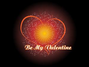 True Love Day Card Illustration