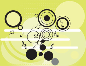 Tunes With Circles Pattern