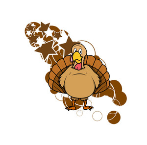 Turkey Bird Vector Graphic