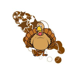 Turkey Bird Vector Graphic
