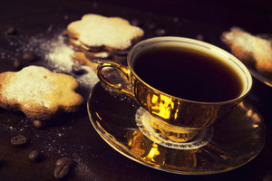 Turkish Coffee And Cookies