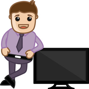 Tv Offers - Vector Illustration