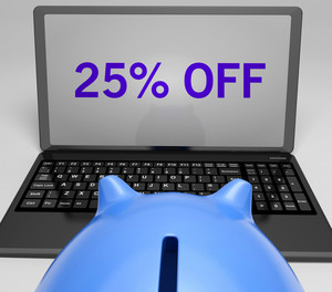 Twenty-five Percent Off On Notebook Shows Special Offers