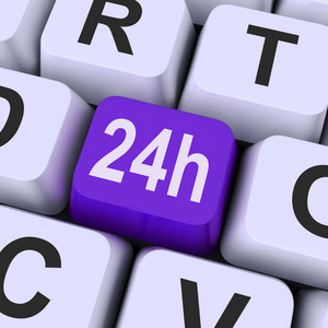 Twenty Four Hours Key Shows Website Open All Day