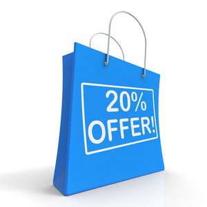 Twenty Percent Off Shows Discount
