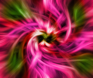 Twisted Abstract Background