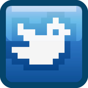 Twitter Bird Blue Tiny App Icon