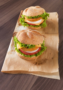 Two Fish Burgers