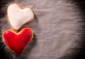 Two Heart Cookies