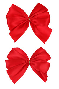 Two Red Bows