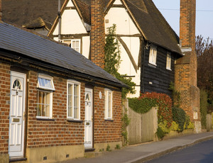 Typical English Village House
