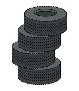 Tyres Vector