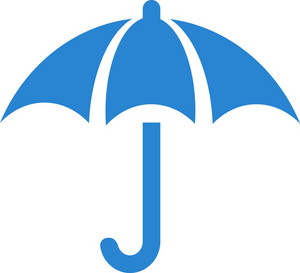 Umbrella Simplicity Icon