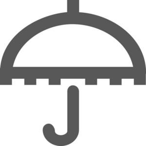 Umbrella Stroke Icon