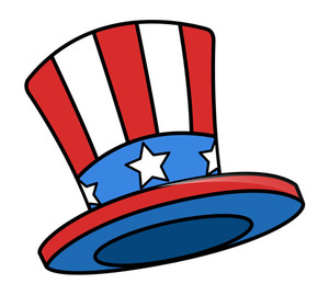 Uncle Sam Cartoon Hat
