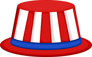 Uncle Sam Hat Isolated