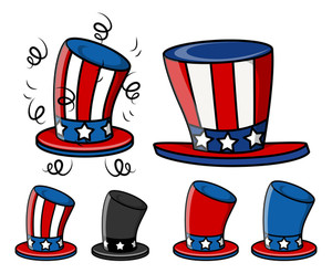 Uncle Sam Hats Set