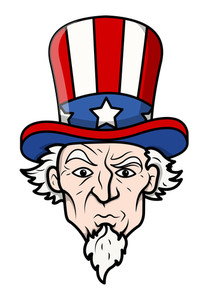 Uncle Sam Vector Illustration