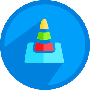 Under Construction Cone Icon