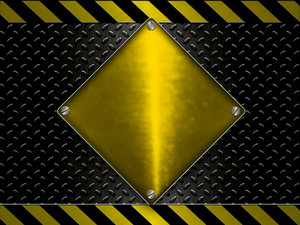 Under Construction - Warning Hazard Lines Background