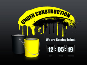 Under Construction Website Background