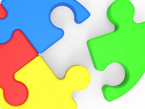 Unfinished Puzzle Shows Final Piece