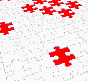 Unfinished Puzzle Shows Gaps And Holes