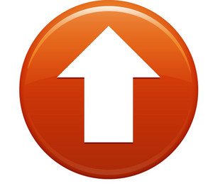 Up Arrow Orange Circle