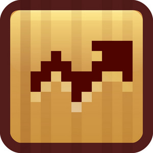 Up Trend Brown Tiny App Icon