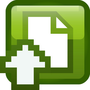 Upload Document Tiny App Icon