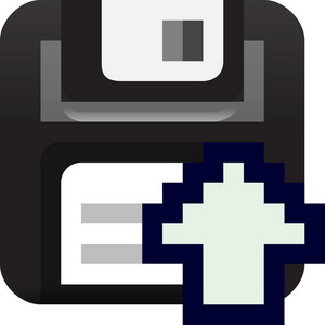 Upload File Tiny App Icon