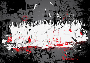 Urban Grunge Background Vector Illustration