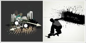 Urban Grunge Vectors
