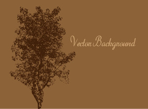 Urban Tree Vector Banner