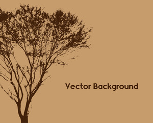 Urban Tree Vector Template