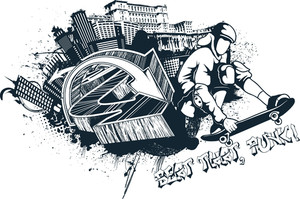 Urban Vector T-shirt Design