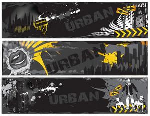 Urban Web Banners