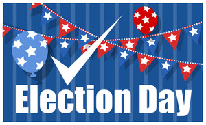 Usa Election Day Background
