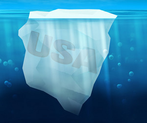 Usa In Ice