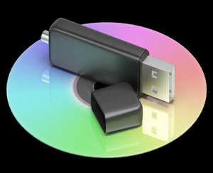Usb And Dvd Memory Shows Portable Storage