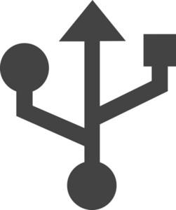 Usb Glyph Icon
