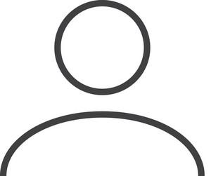 User 1 Minimal Icon