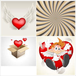 Valentine Elements Vectors