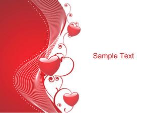 Valentine Floral Design Heart