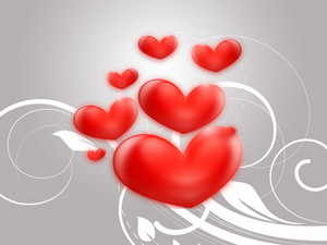 Valentine Hearts Background 228